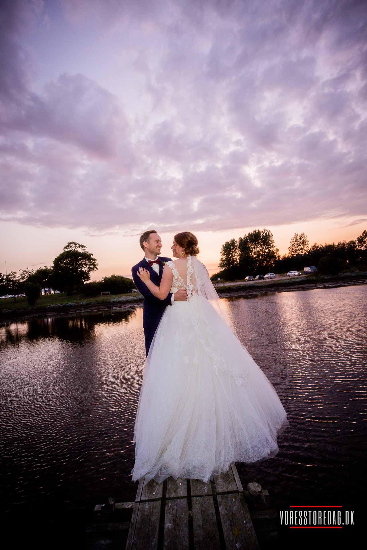 Bryllupsbilleder på lærred - Bryllupsfoto på lærred i høj kvalitet