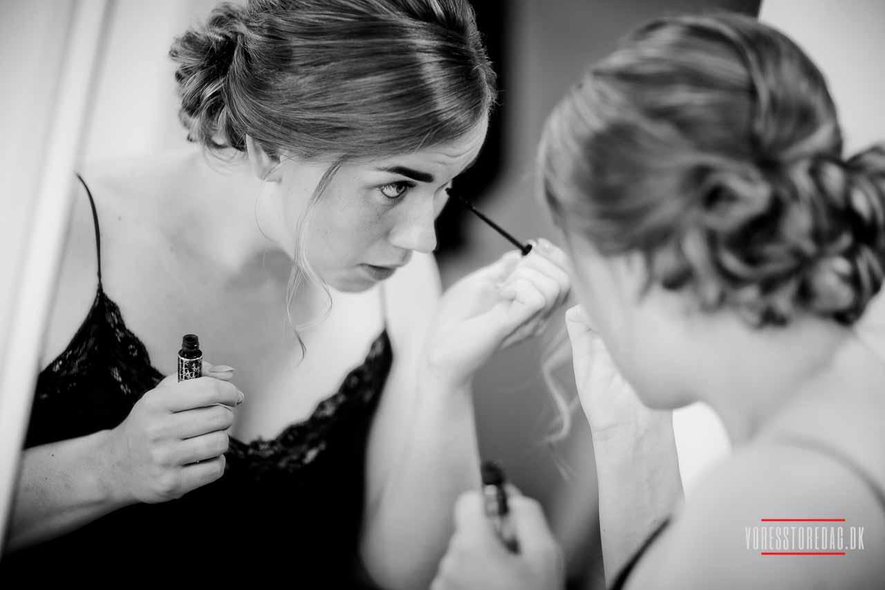 brudens forberedelse Borre Knob