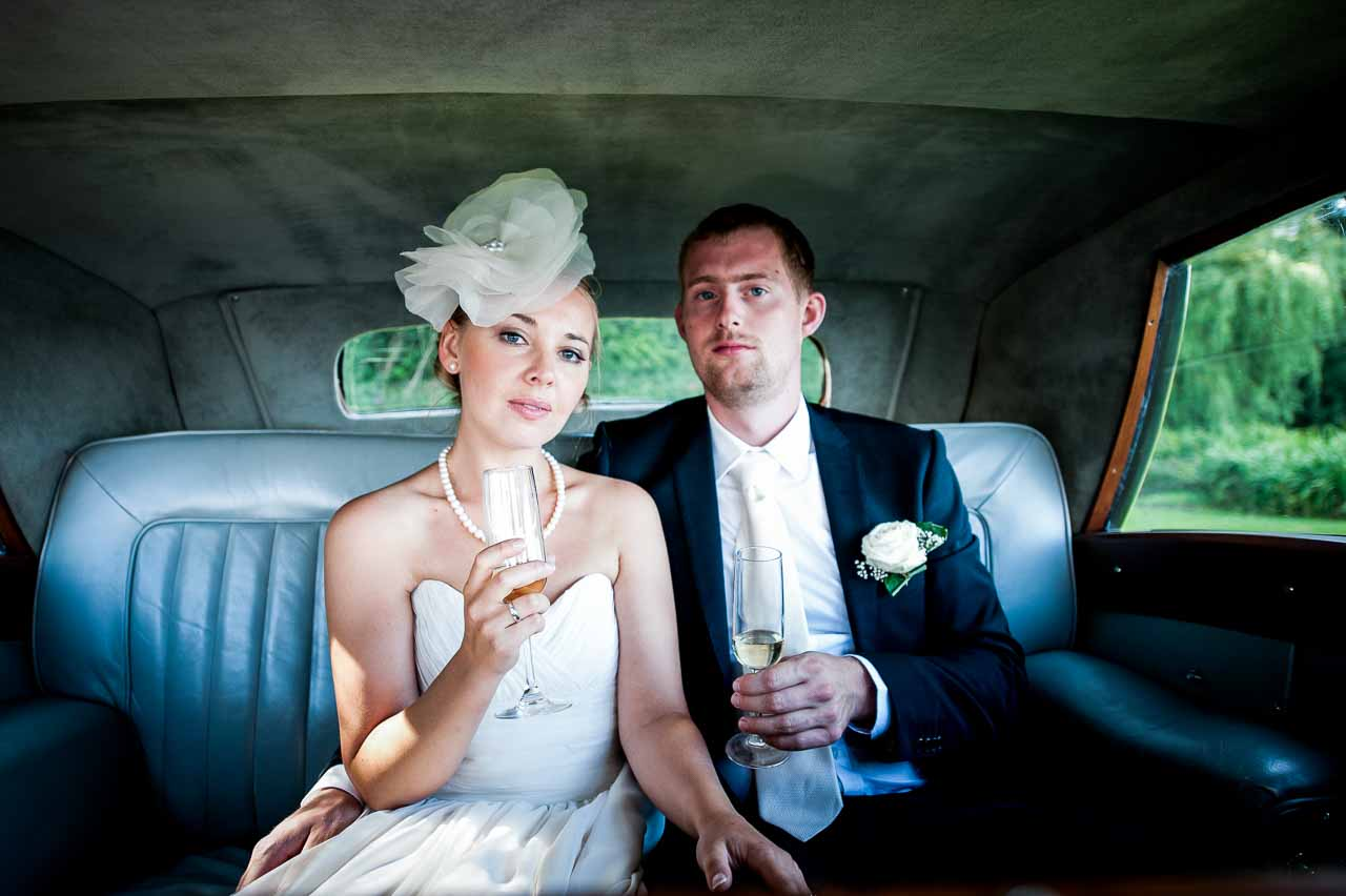 bryllup på et slot på Fyn