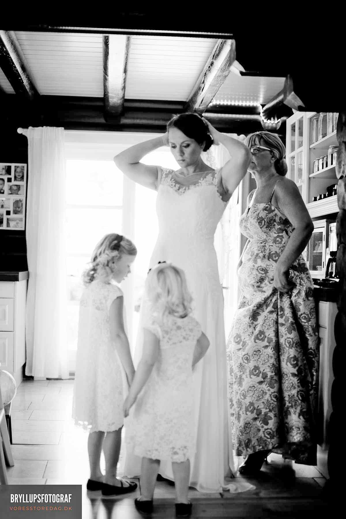 Bryllupsfotograf til kreative bryllupsbilleder