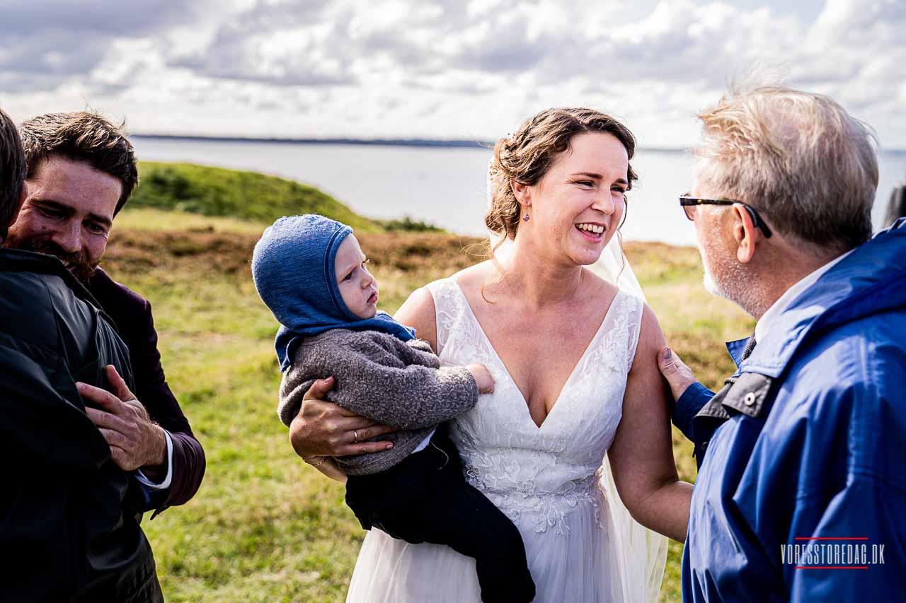 Hold udendørs bryllup | Hotel Skibelund Krat i Vejen