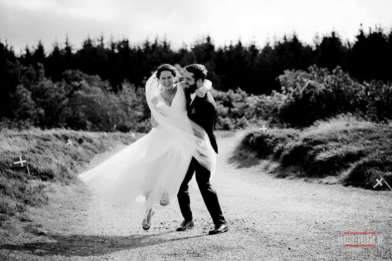 Udendørs bryllup i den smukkeste natur - Fotograf