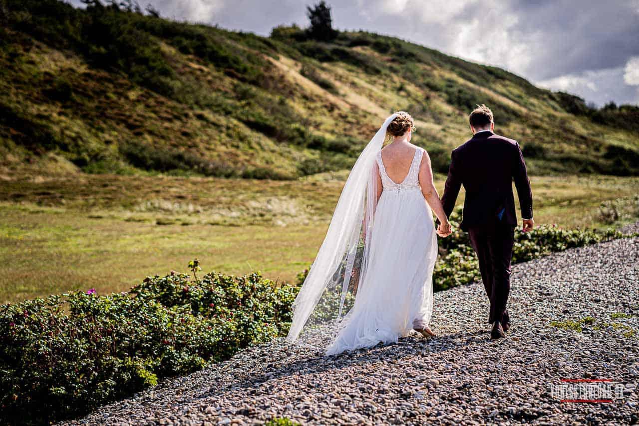 Billeder af udendørs bryllup