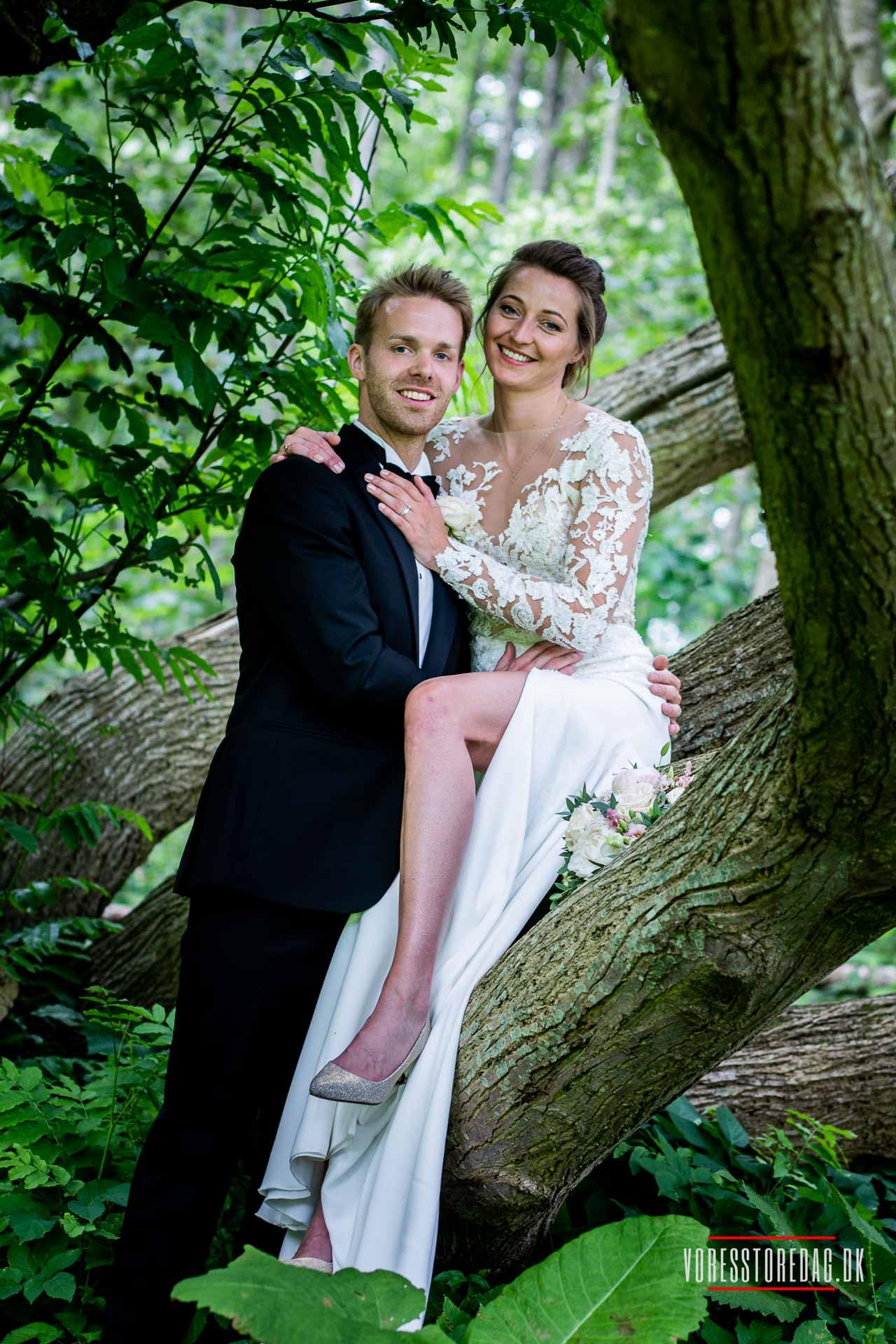 Bryllupsfest i skoven! Romantisk og hyggeligt. - Bryllup