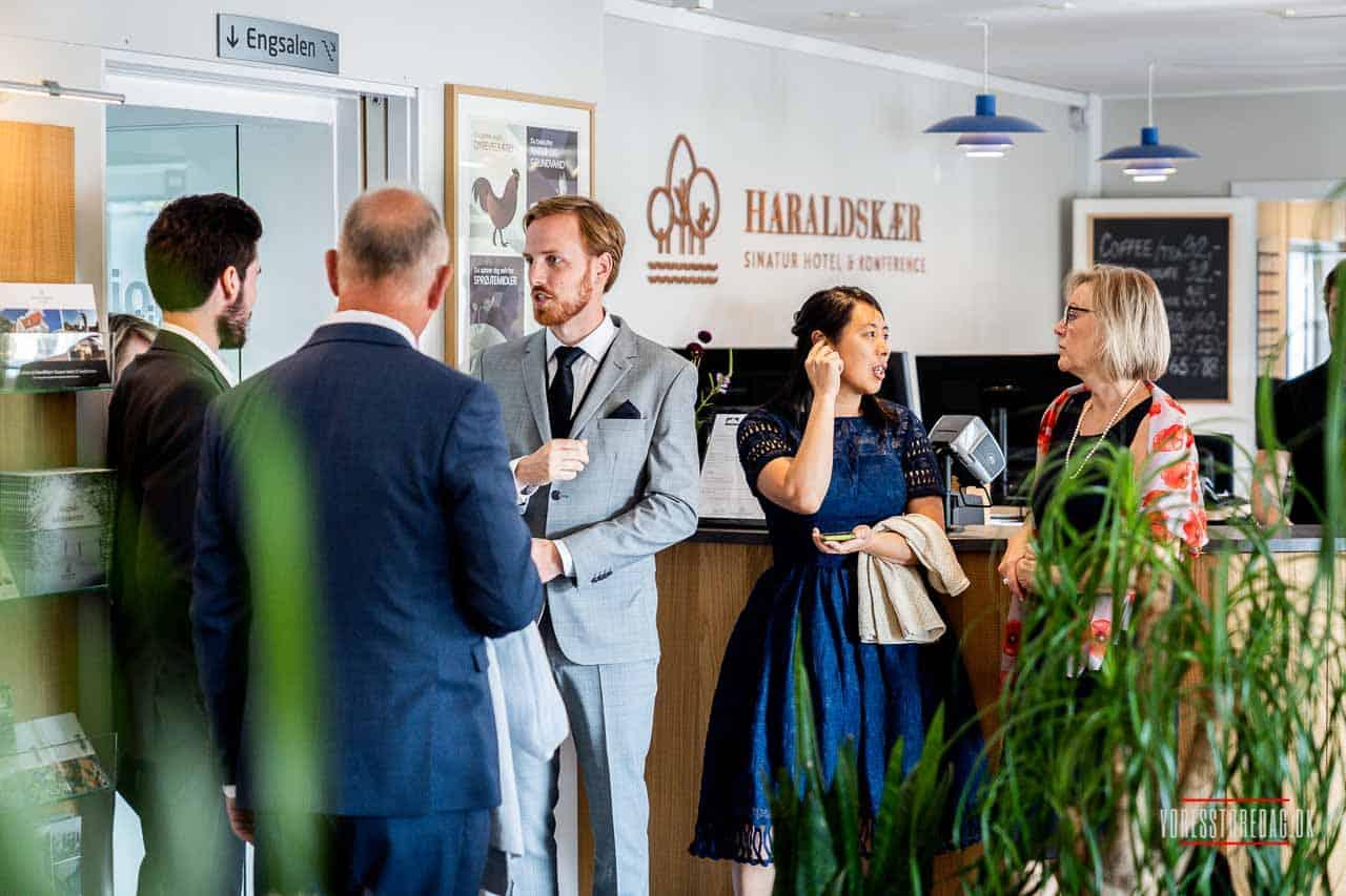 Hotel Haraldskær bryllup - Fotograf Vejle