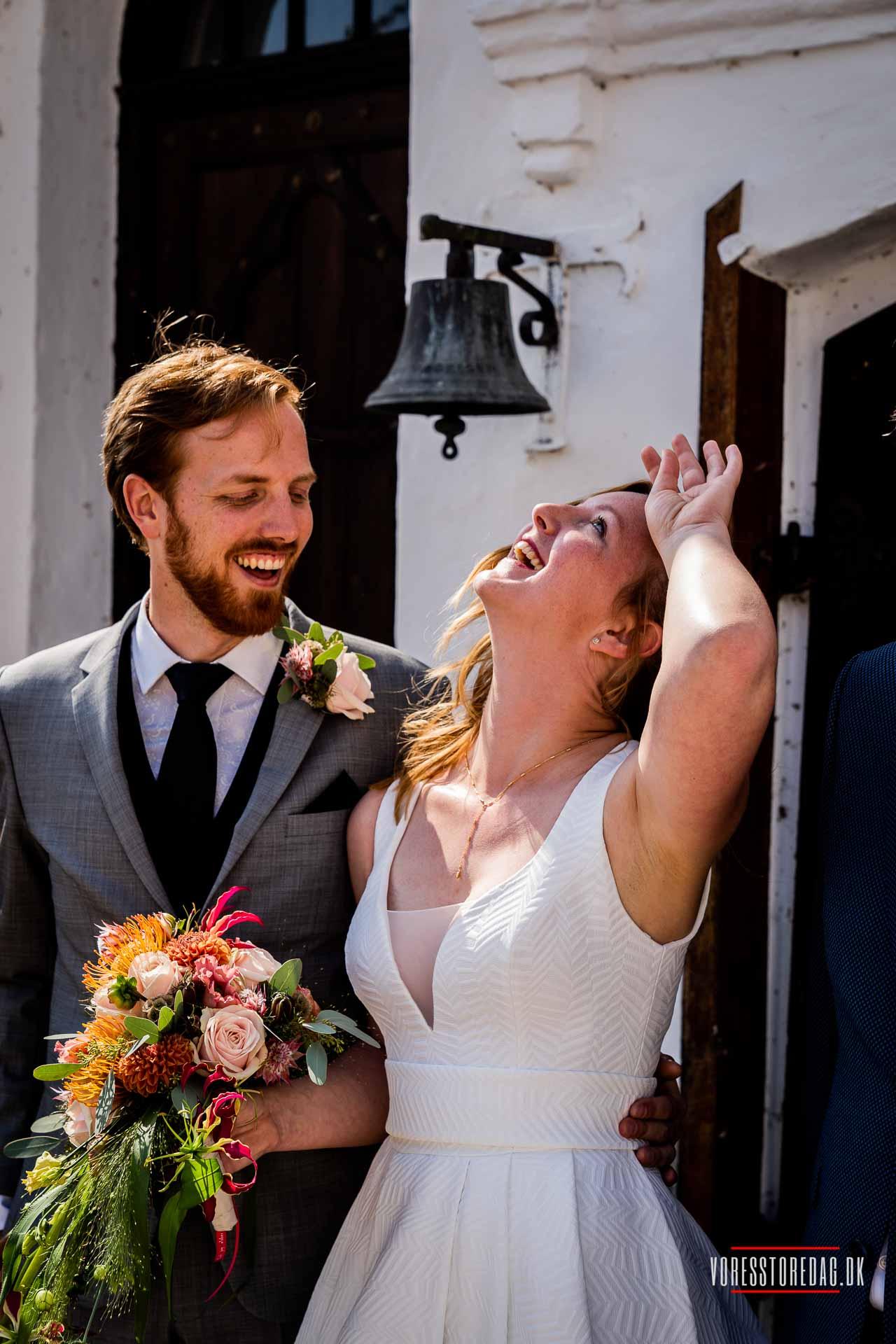 Bryllup fejret i Vejle