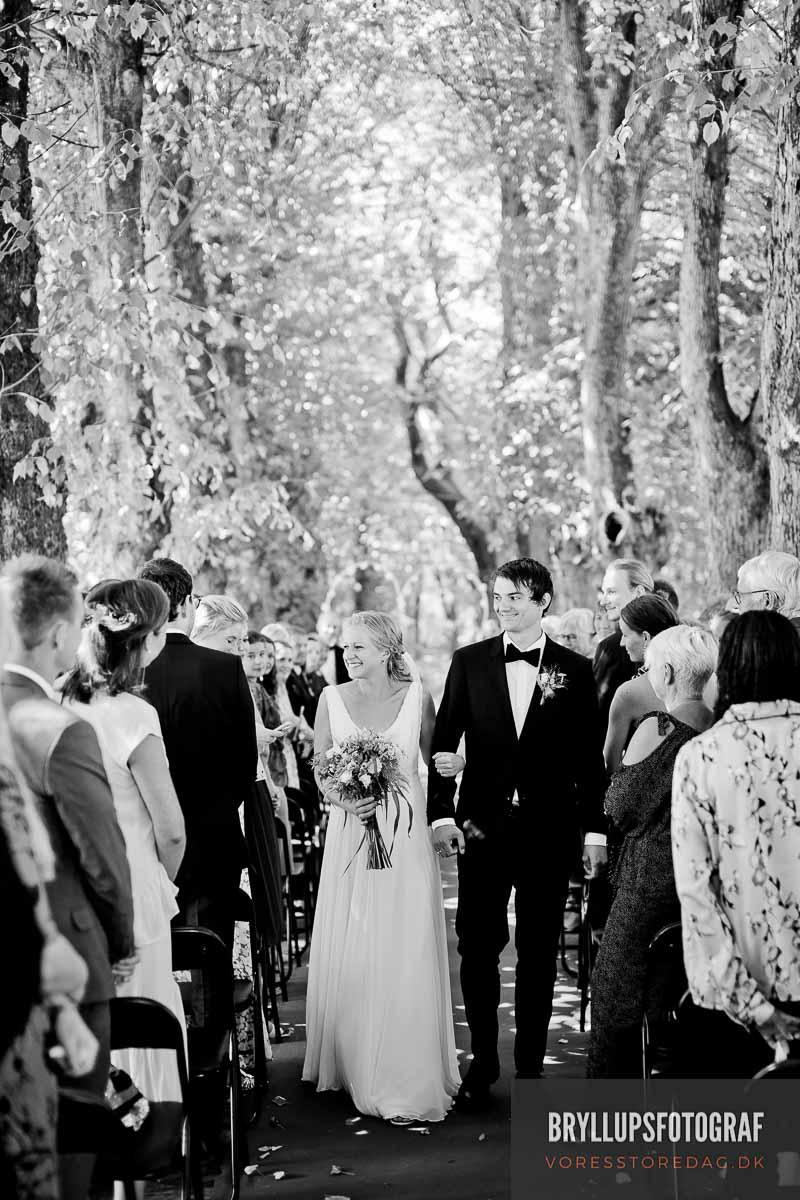 Bryllupfoto lokation Byfoged skoven - Fotograf