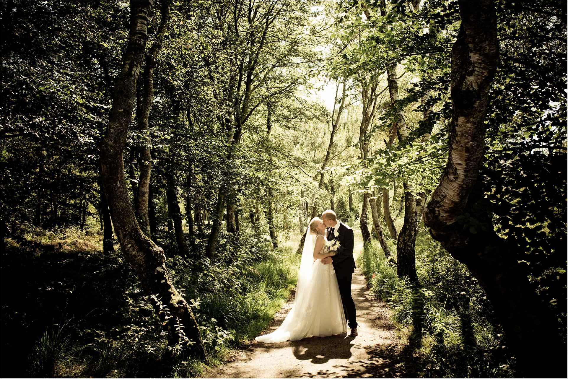 bryllupsfotografiet i Skove