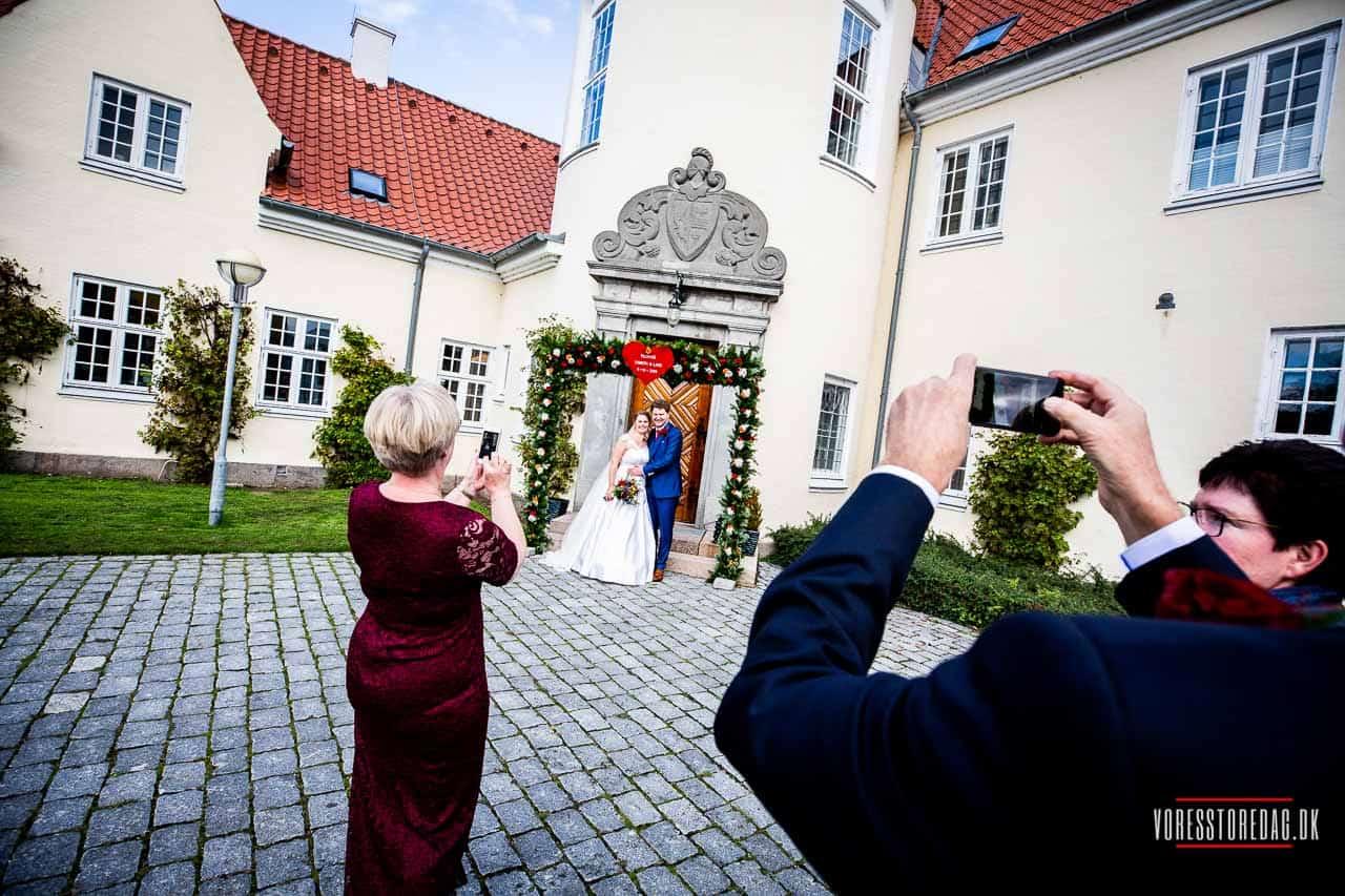 Bryllup på Fyn i smukke omgivelser