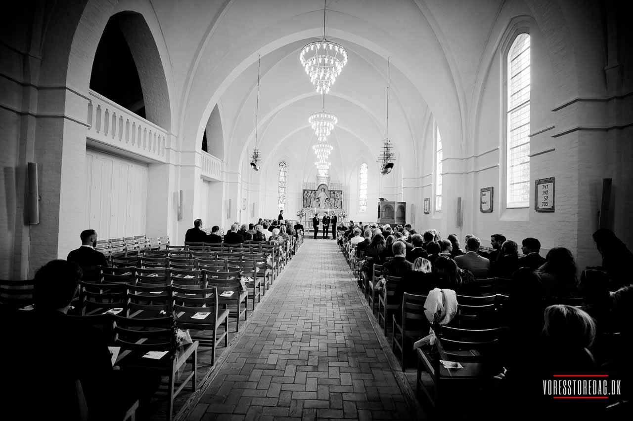 Vielse / velsignelse | Fredens Kirke, Odense