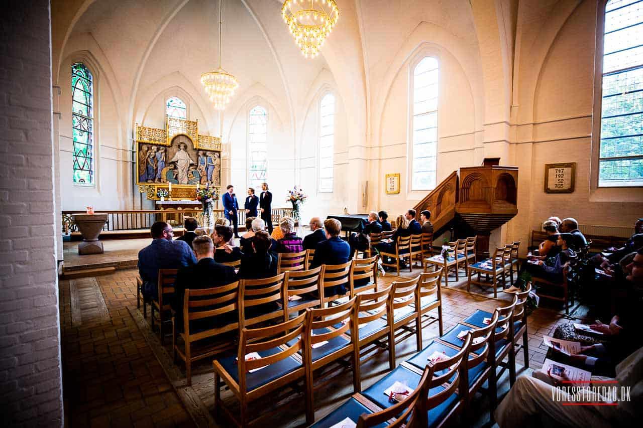 FAABORG: Sydfyn - og særligt Faaborg-området - er meget populært, når det gælder bryllupper. Den skønne natur, de smukke kirker