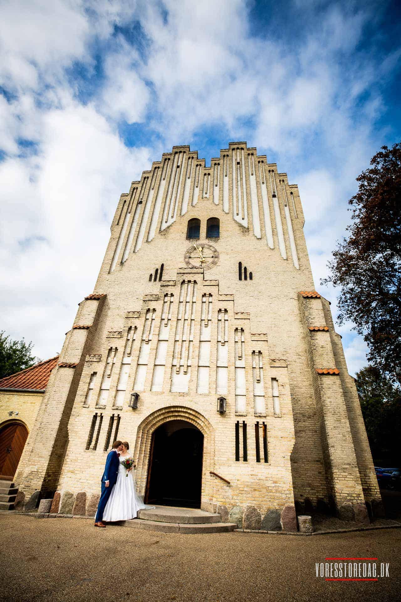 Fredens kirke i Odense bryllup