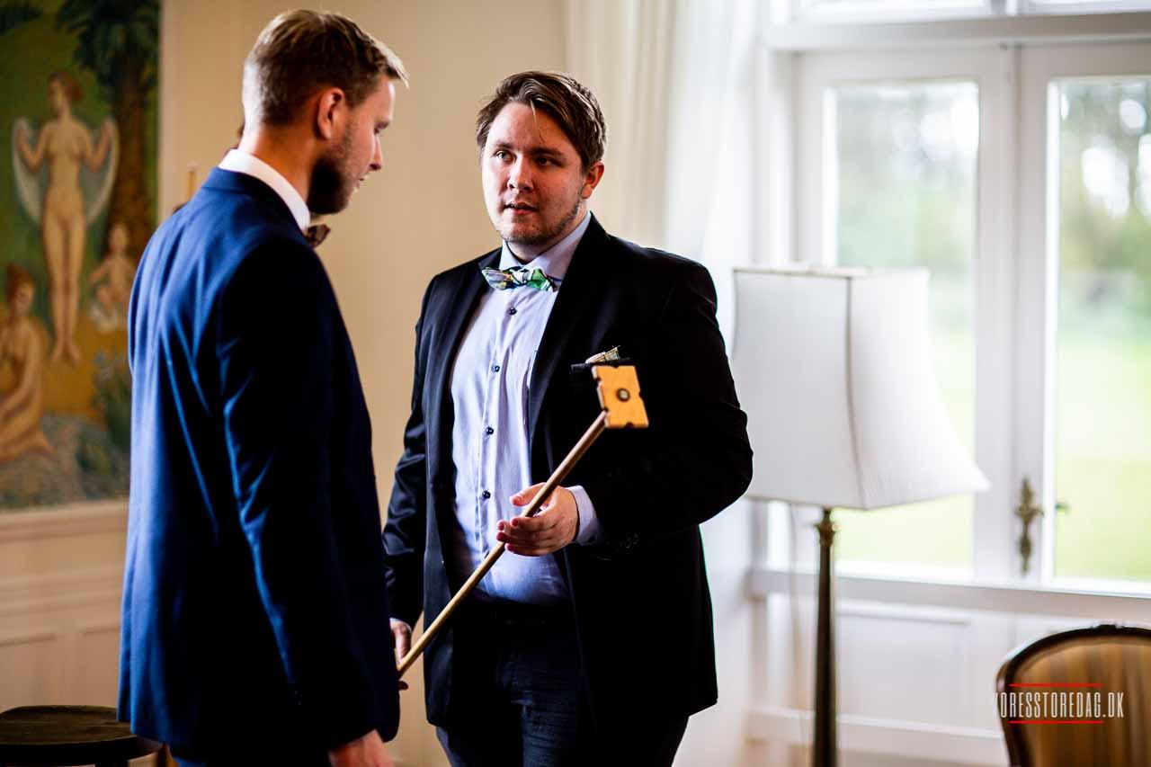 Bryllupsfest på Herregård