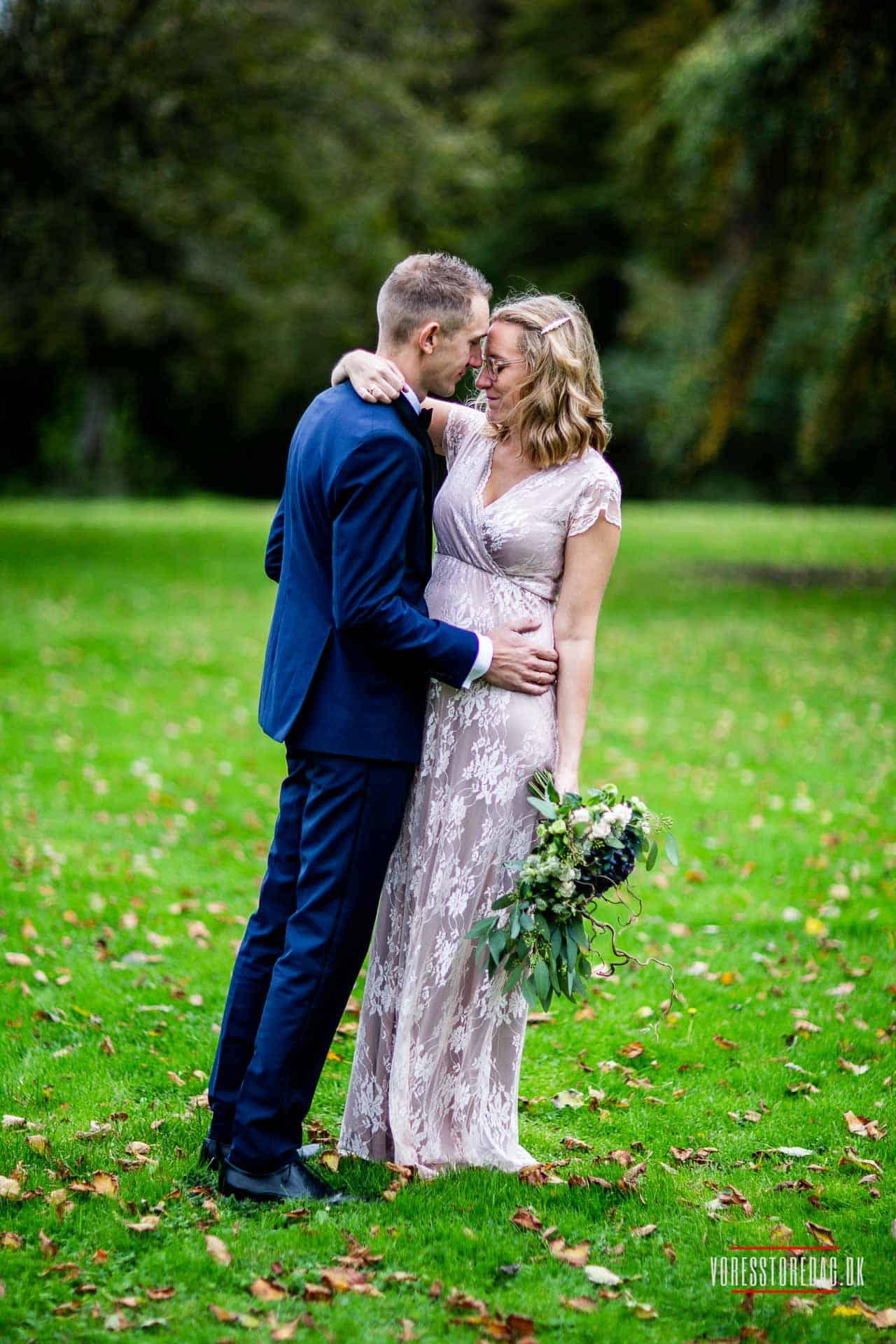 Et uforglemmeligt bryllup. Med den smukke natur