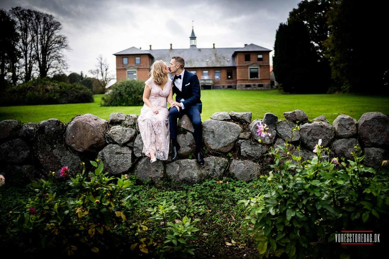 Fotograf til bryllup i lade