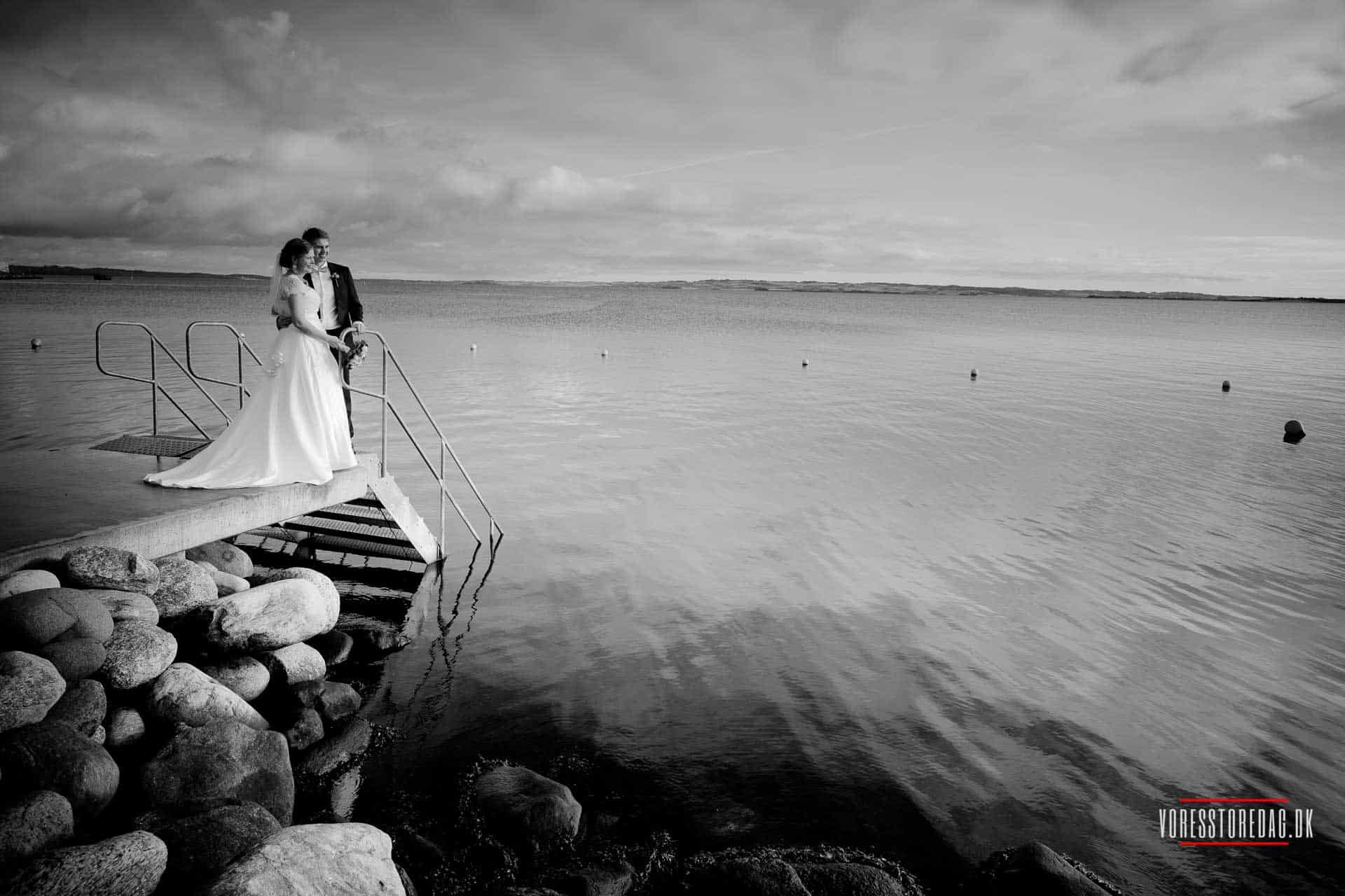 Hold bryllup hos Kaløvig Badehotel