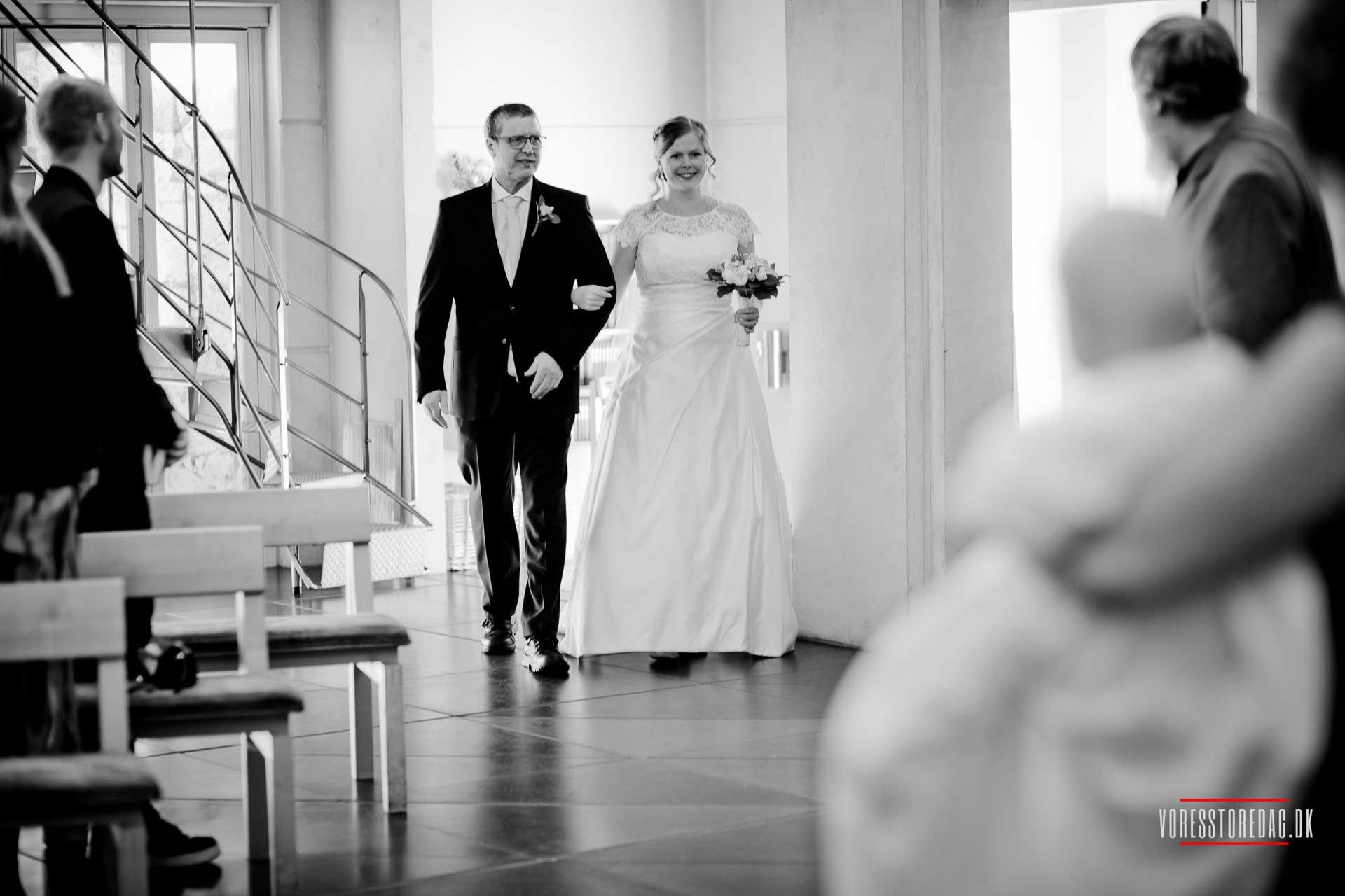 Bryllupsfotograf Aarhus | Billeder og video