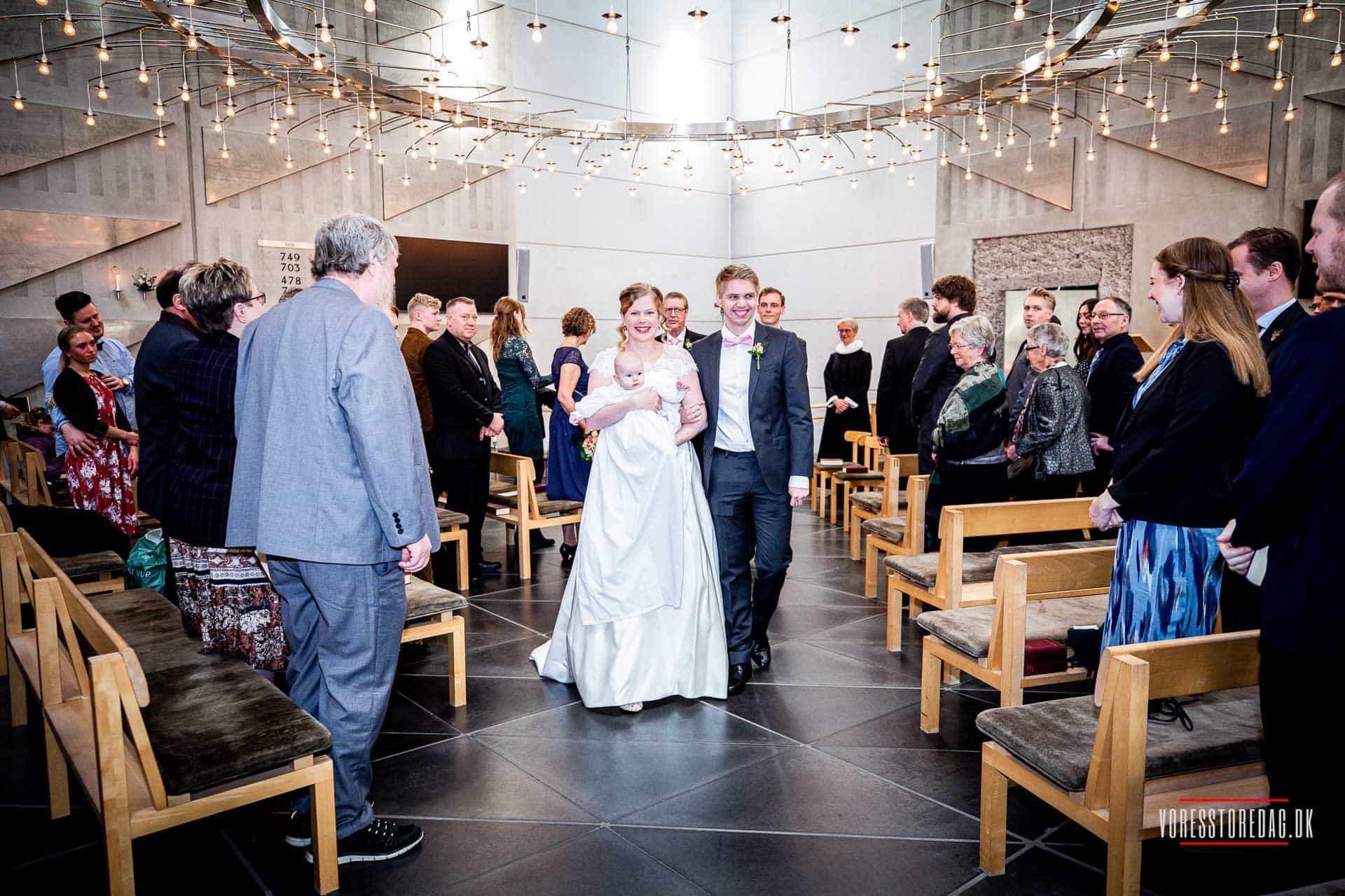 Smukt selskabslokale til bryllupsfesten i Århus