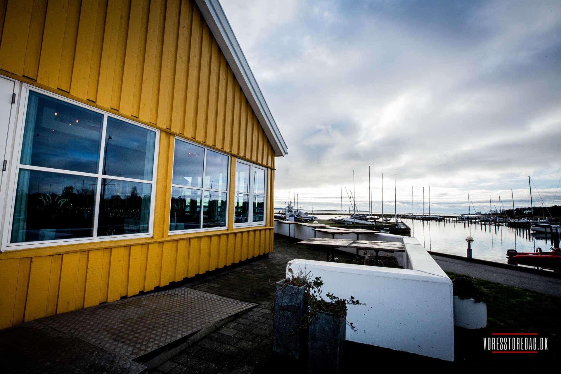 Kaløvig Badehotel bryllupsfoto