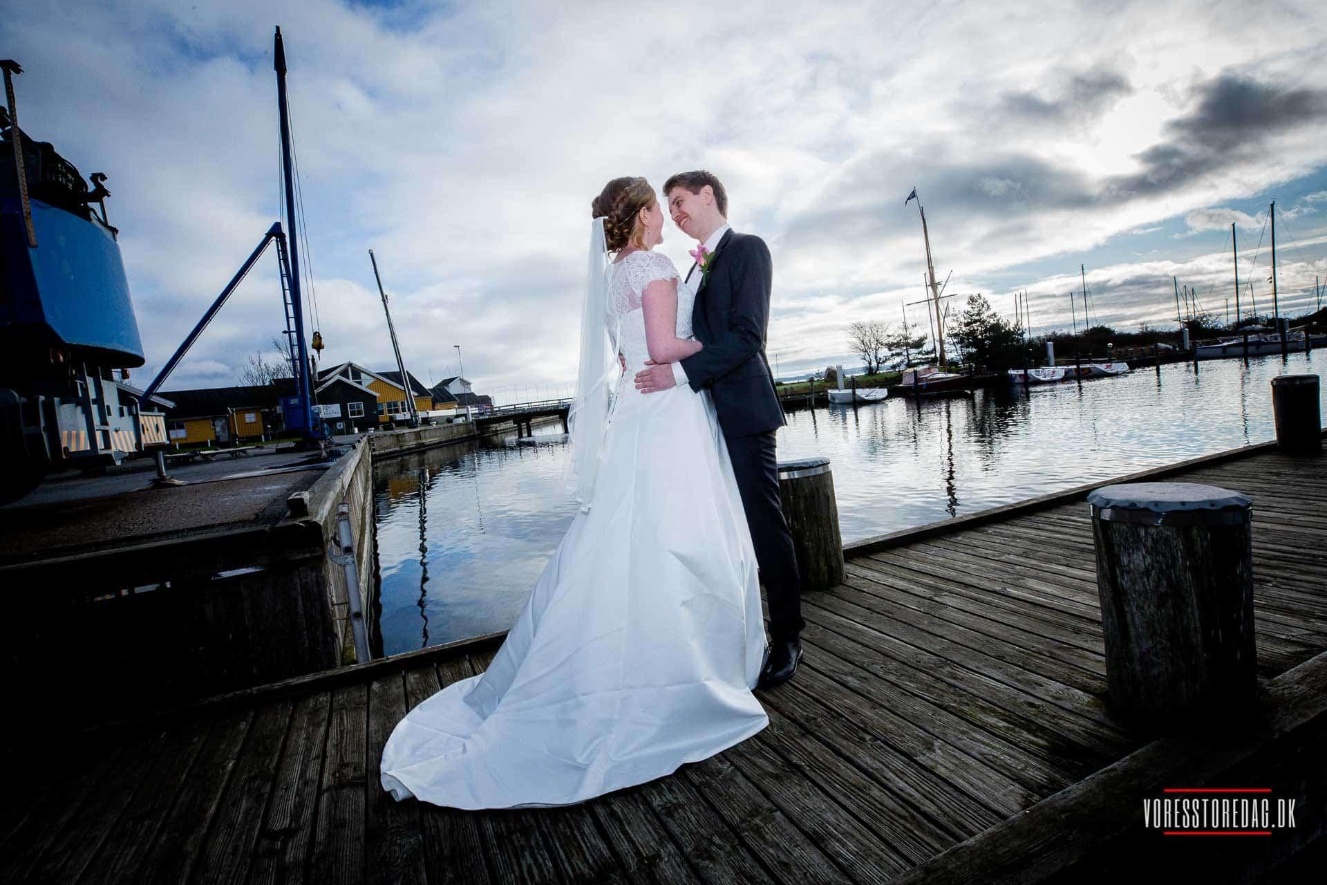 Skal i holde bryllup? Hos Kaløvig Badehotel kan vi også danne rammerne for en uforglemmelig bryllupsfest.