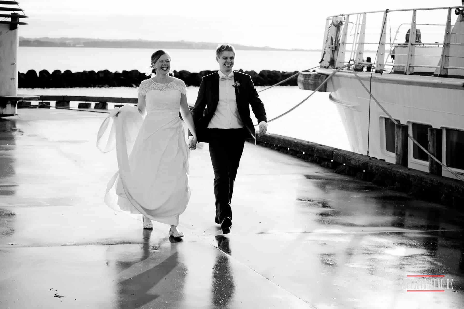 En bryllupsfest er altid en god fest, og I har det altid sjovest, når det er tid til at tage hjem. Hos Kaløvig Badehotel