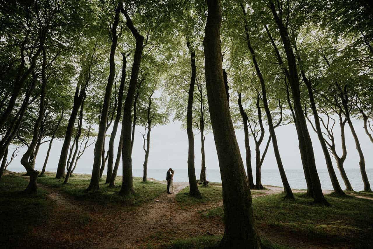 bryllup ved skoven