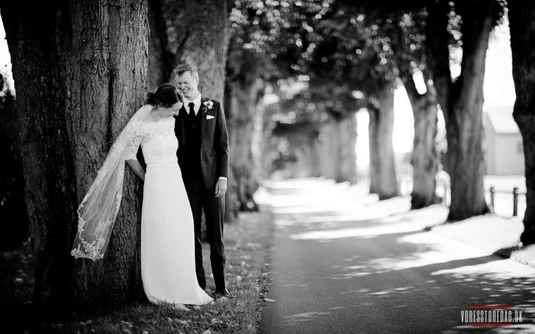Brudeparret Anders og Charlotte