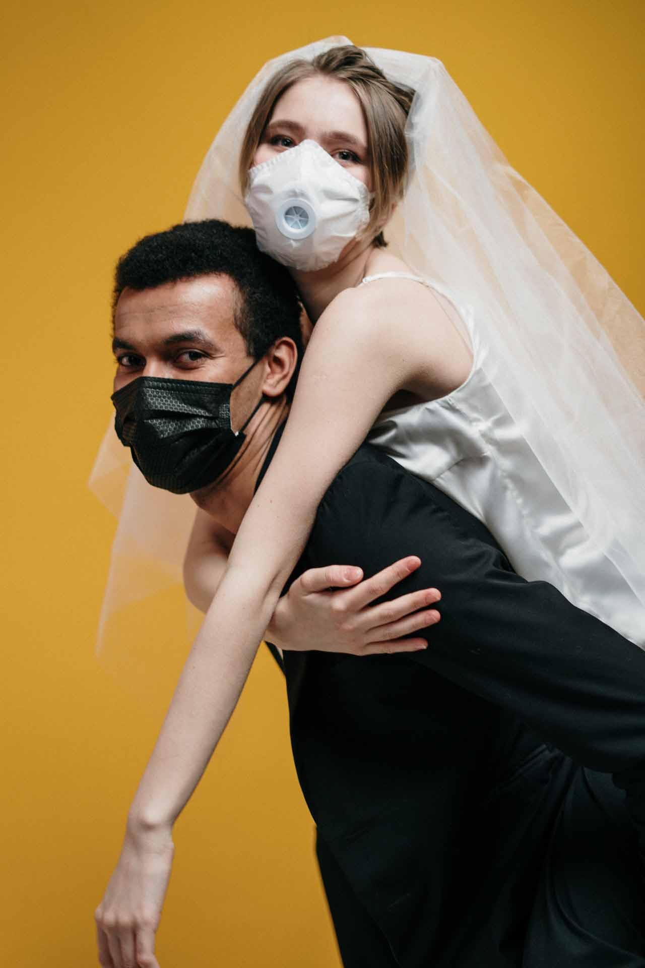 virus og bryllup