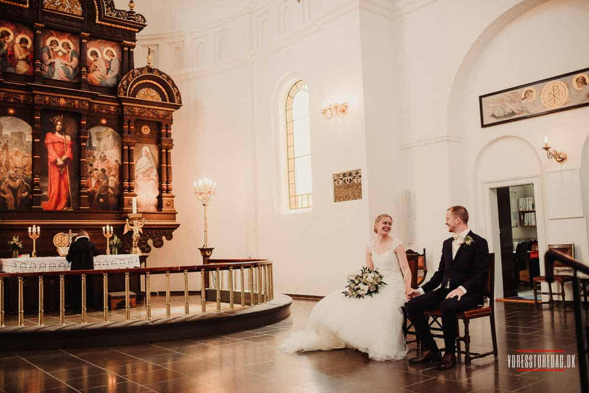10 års erfaring som professionel bryllupsfotograf, ved mere end 100 bryllupper