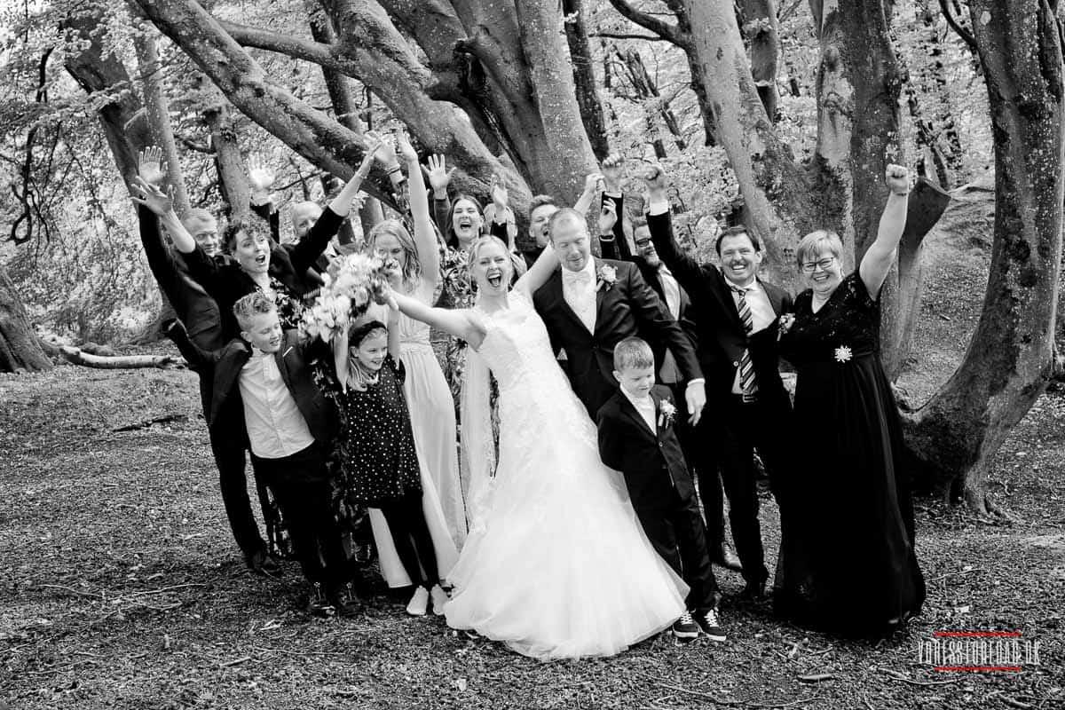 gruppefoto bryllup Aalborg