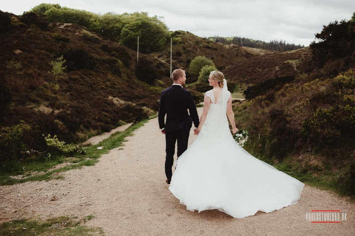 receptionen, festen, talerne og bryllupsdansen