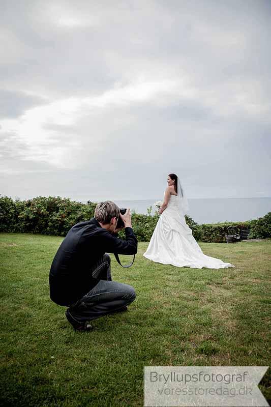 bryllupsfotograf fotograferer