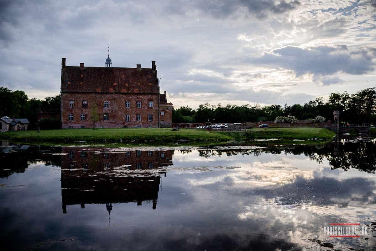 Kronprinsessen Mary nød et par solrige dage på Broholm Slot