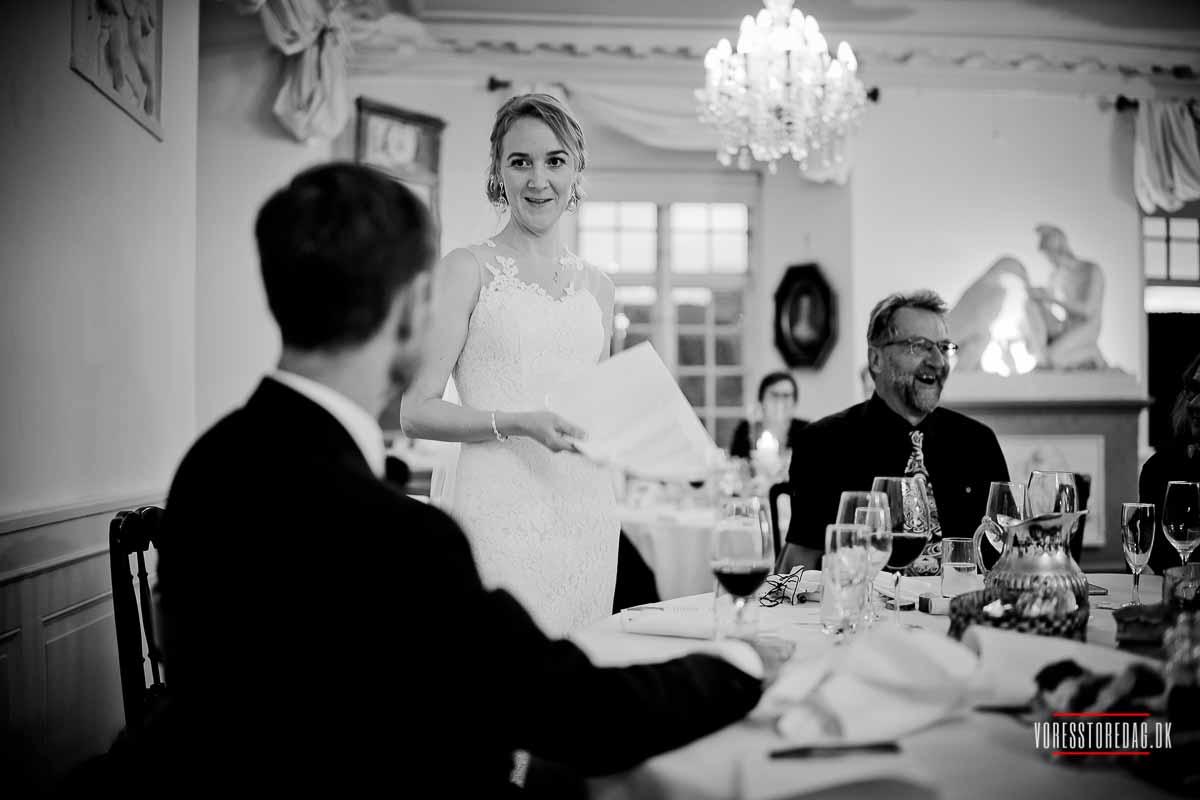 Fotografering af bryllupper ... Broholm Slot bryllup
