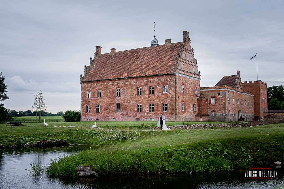 baronens seng på Broholm Slot