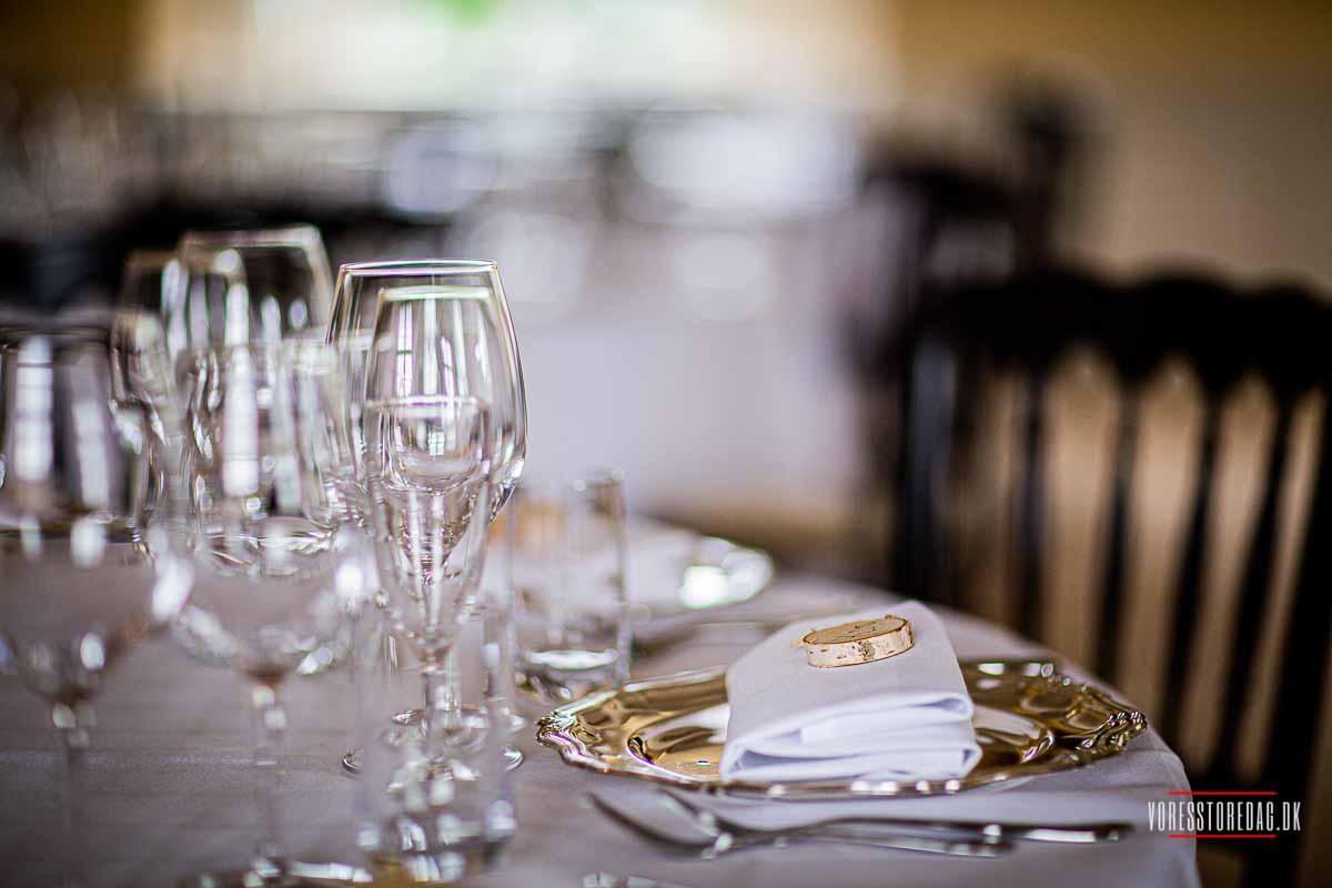 Broholm Slot bryllup på Fyn