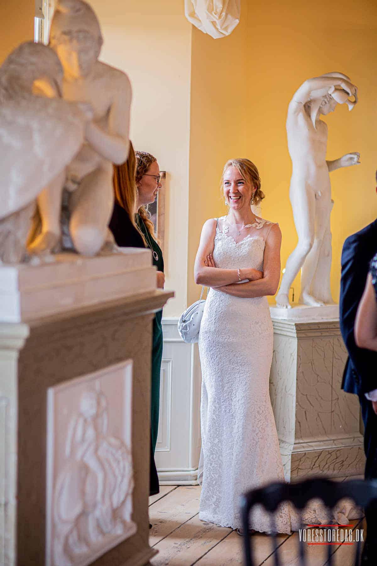 det bedste bryllup på Broholm Slot