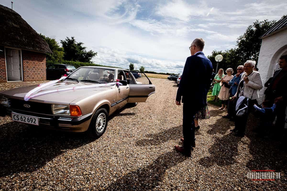 bryllupstransport Ringkøbing