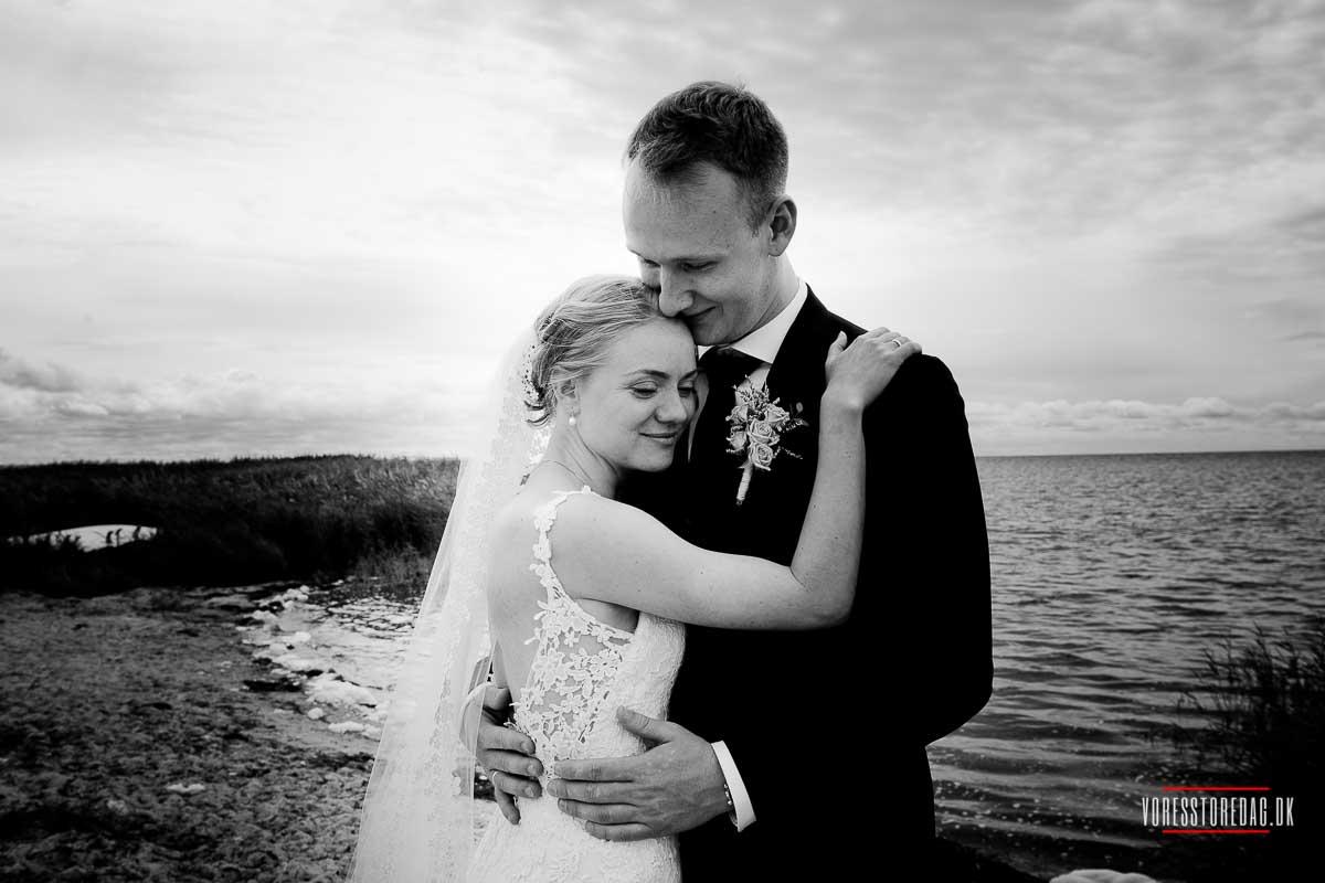 Bryllupsfoto Vestjylland