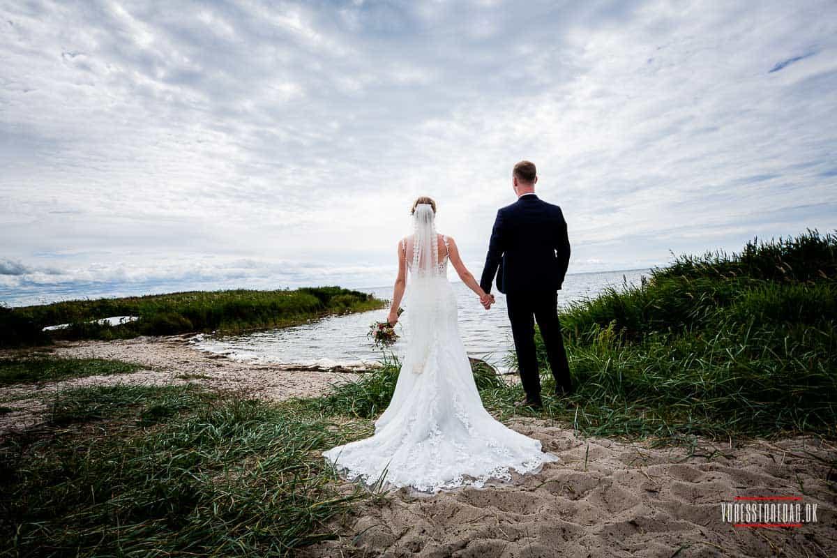 Ringkøbing Fjord bryllupsfoto