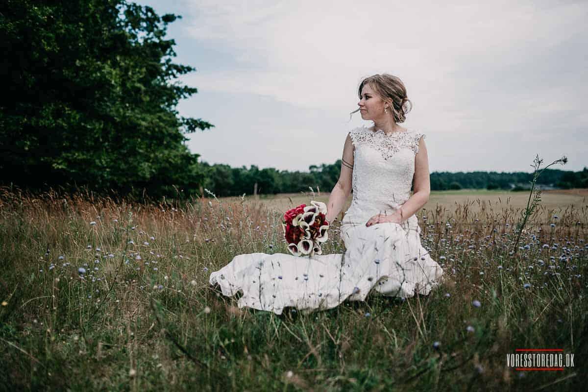 Bryllup i Aarhus: Nær skov og strand