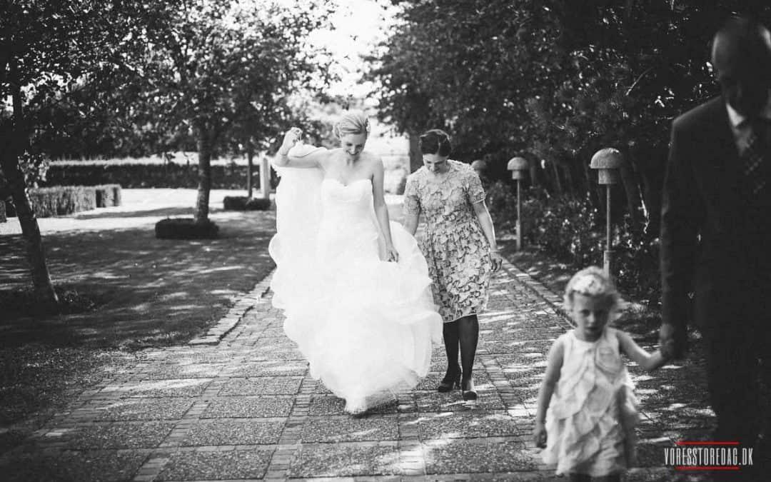 Bryllupsbilleder i Svanelunden