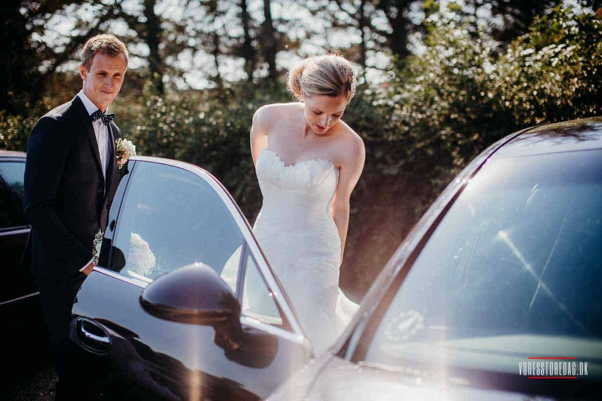 Bryllup på Svanelunden i Hjørring