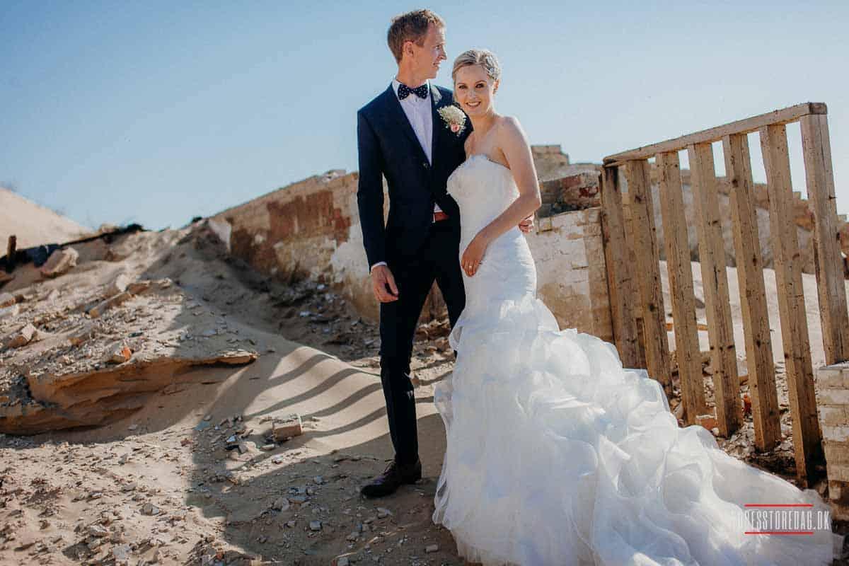 Bryllup i nordjysk klitplantage