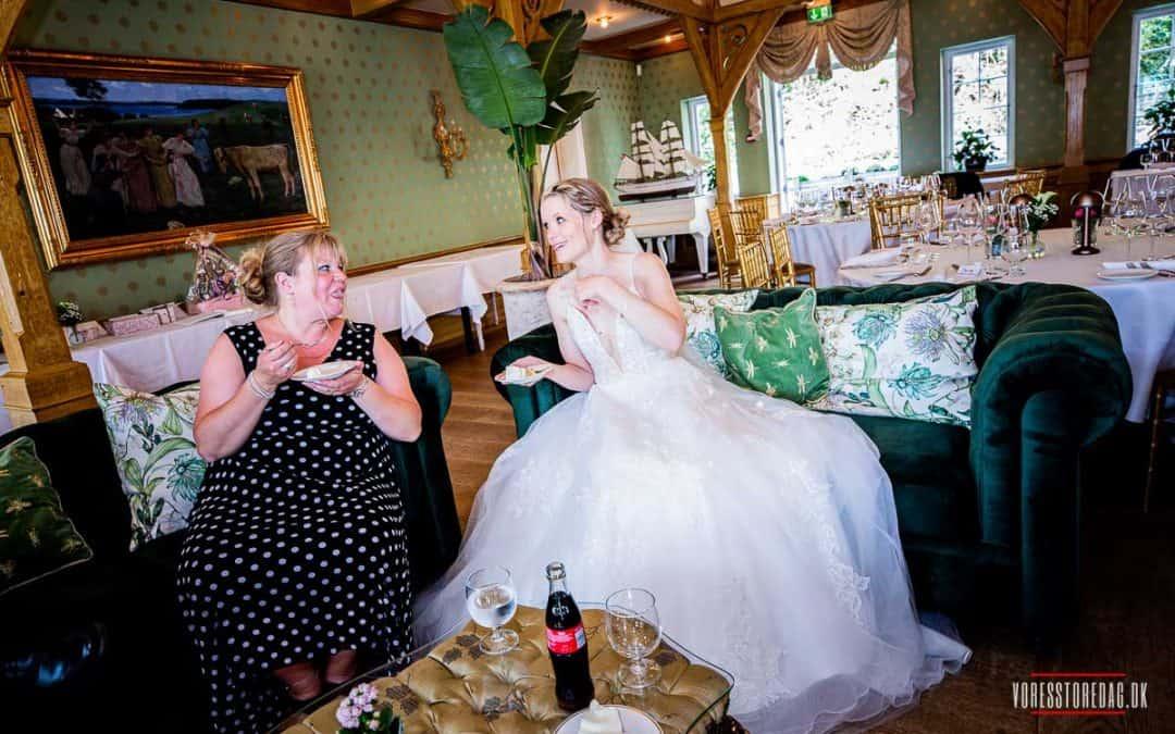 Billeder af Dyvig Badehotel bryllup