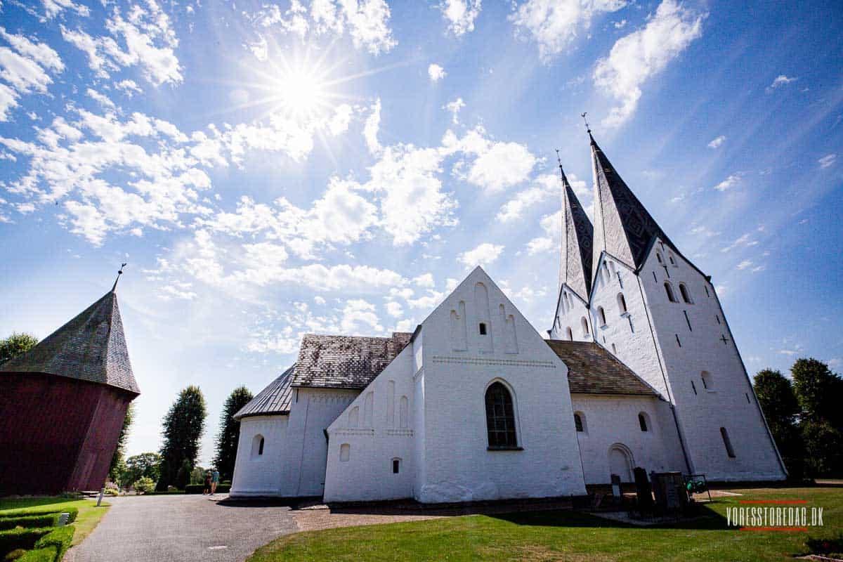 klar til et bryllup i Sønderjylland