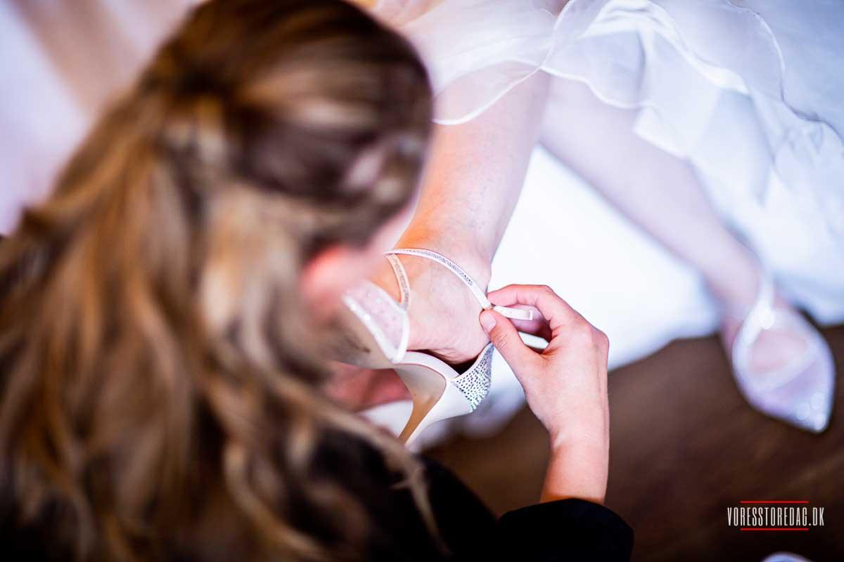 bruden på Dyvig Badehotel
