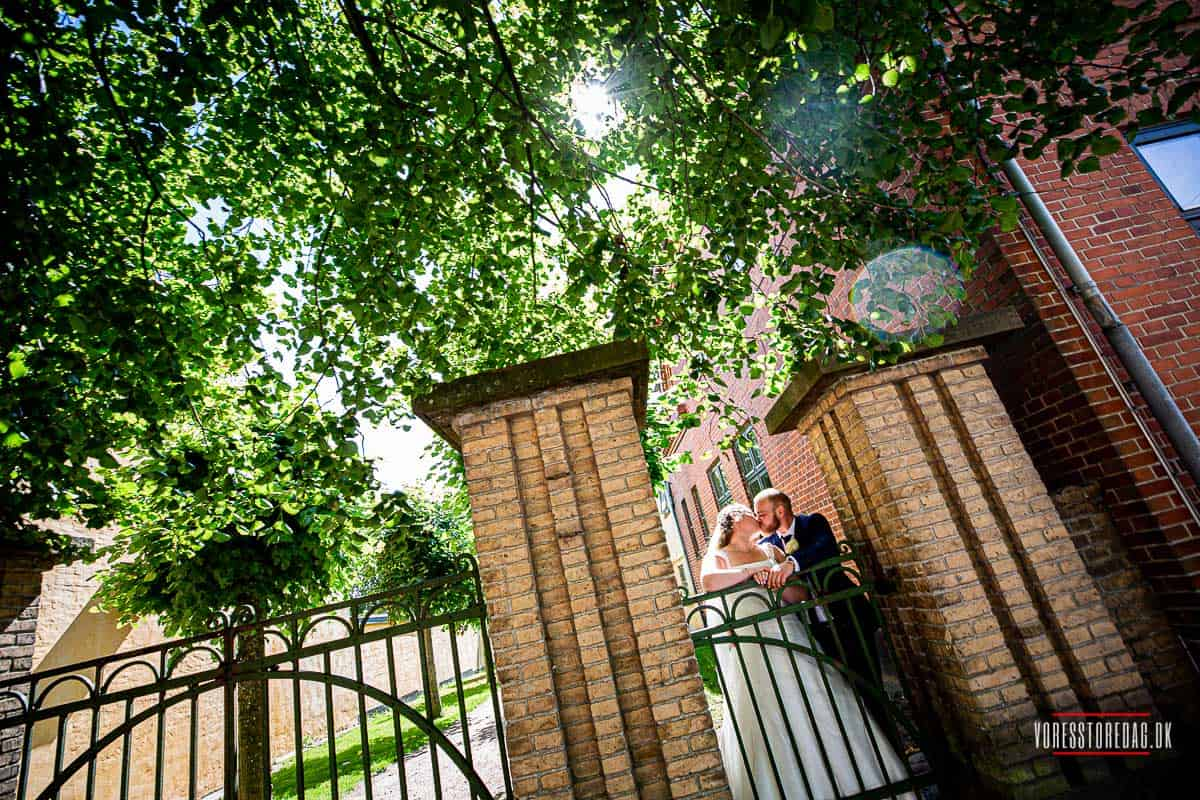 Et bryllup er blandt livets store øjeblikke