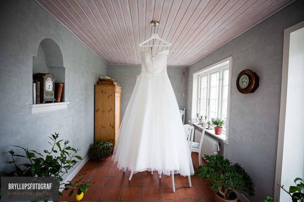 flot brudekjole