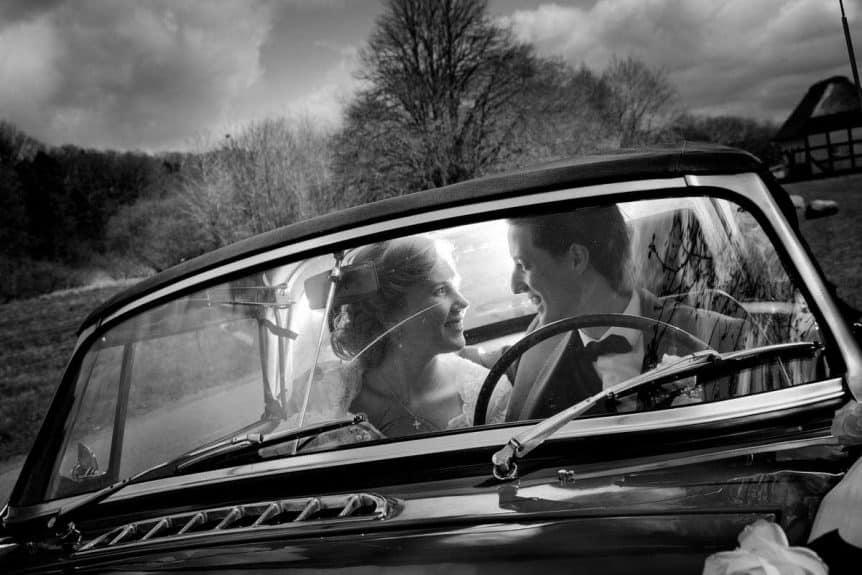 brudebilen